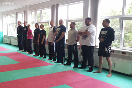 Dark Blue Seminar & Thaikido Belt Exam 2.Dan at Dojo FD Martial Arts Club 2015